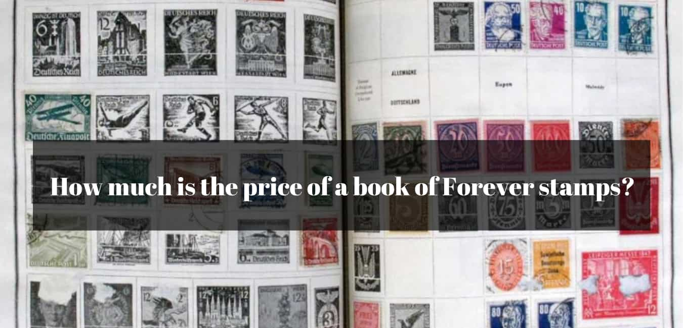 How much is the price of a book of Forever stamps