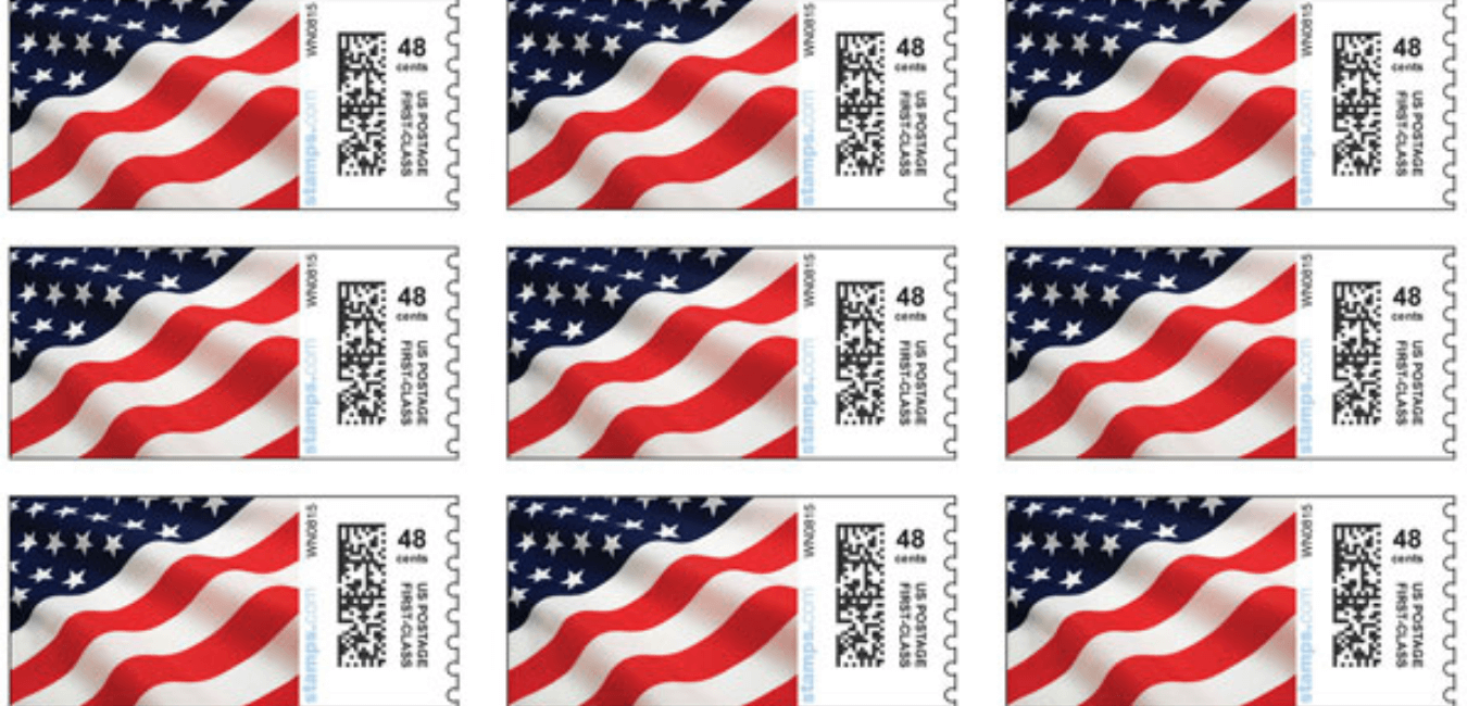 Postage Stamps at Rite Aid