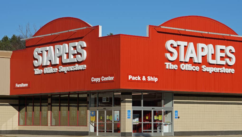 Staples Stamps
