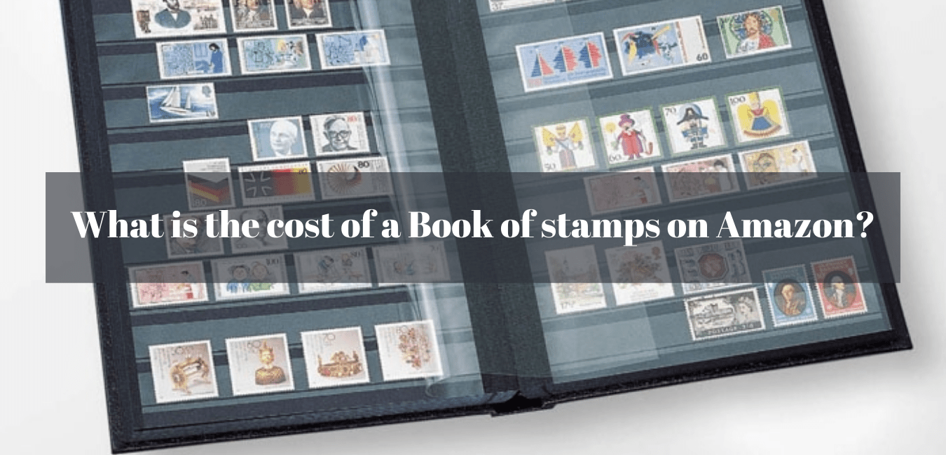 What is the cost of a Book of stamps on Amazon