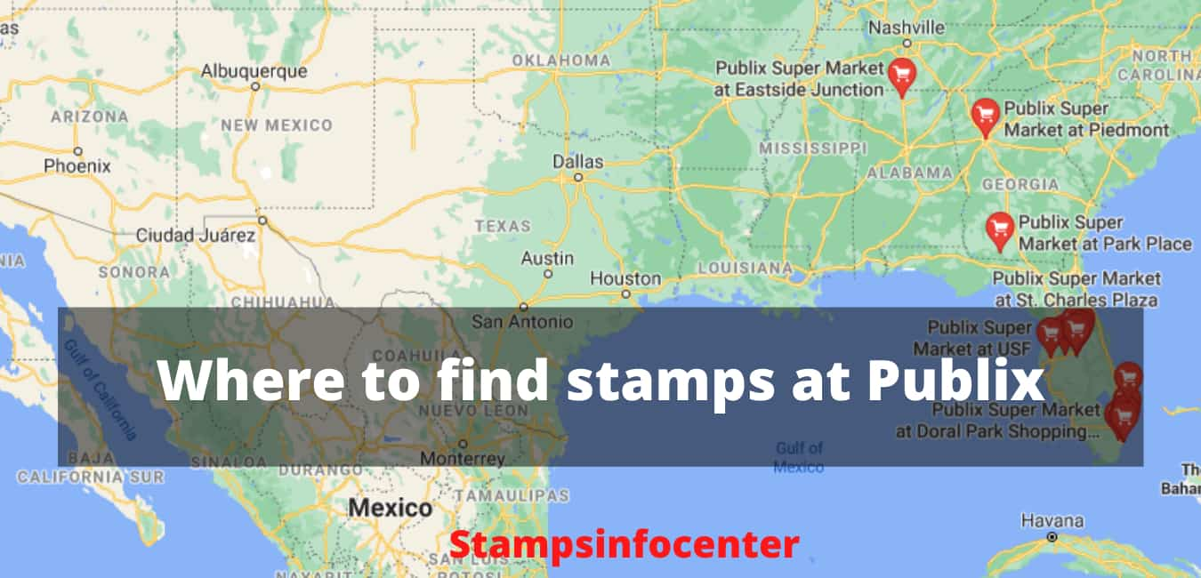 Where to find stamps at Publix