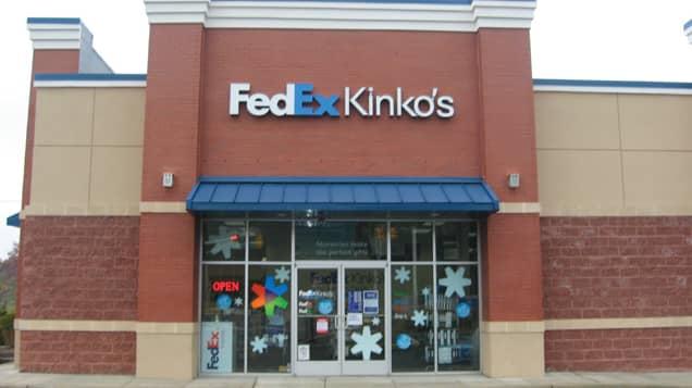 About FedEx or Kinkos