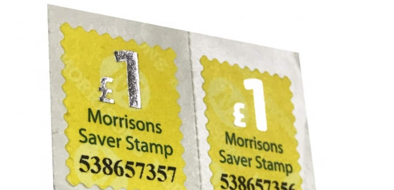 Buying Stamps from Morrisons