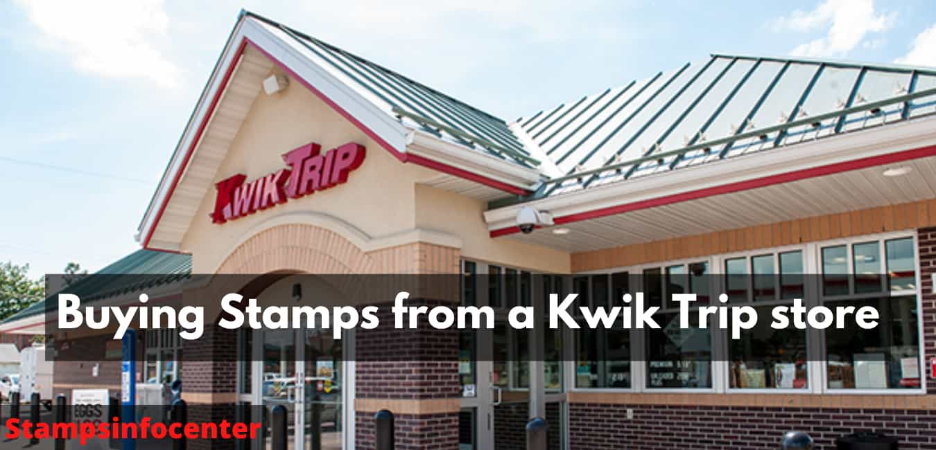 Buying Stamps from a Kwik Trip store