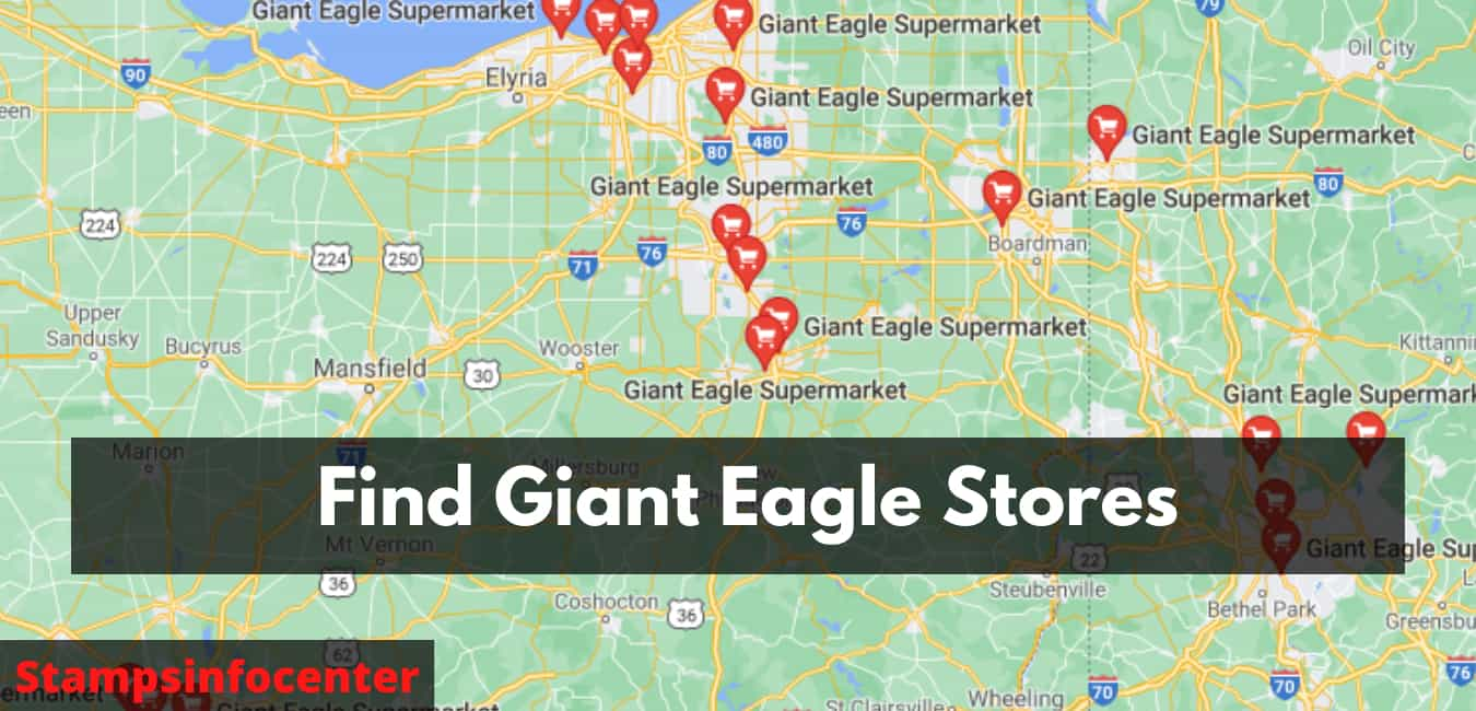 Find Giant Eagle Stores