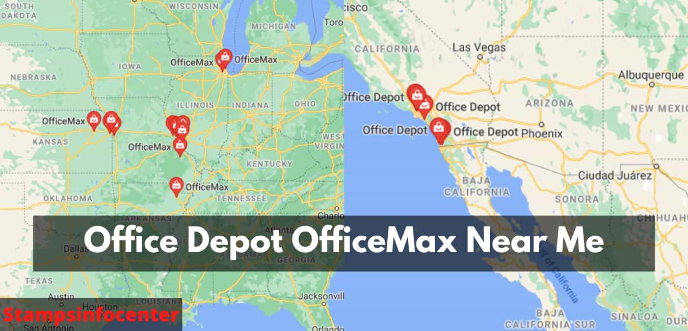 Office Depot OfficeMax Near Me