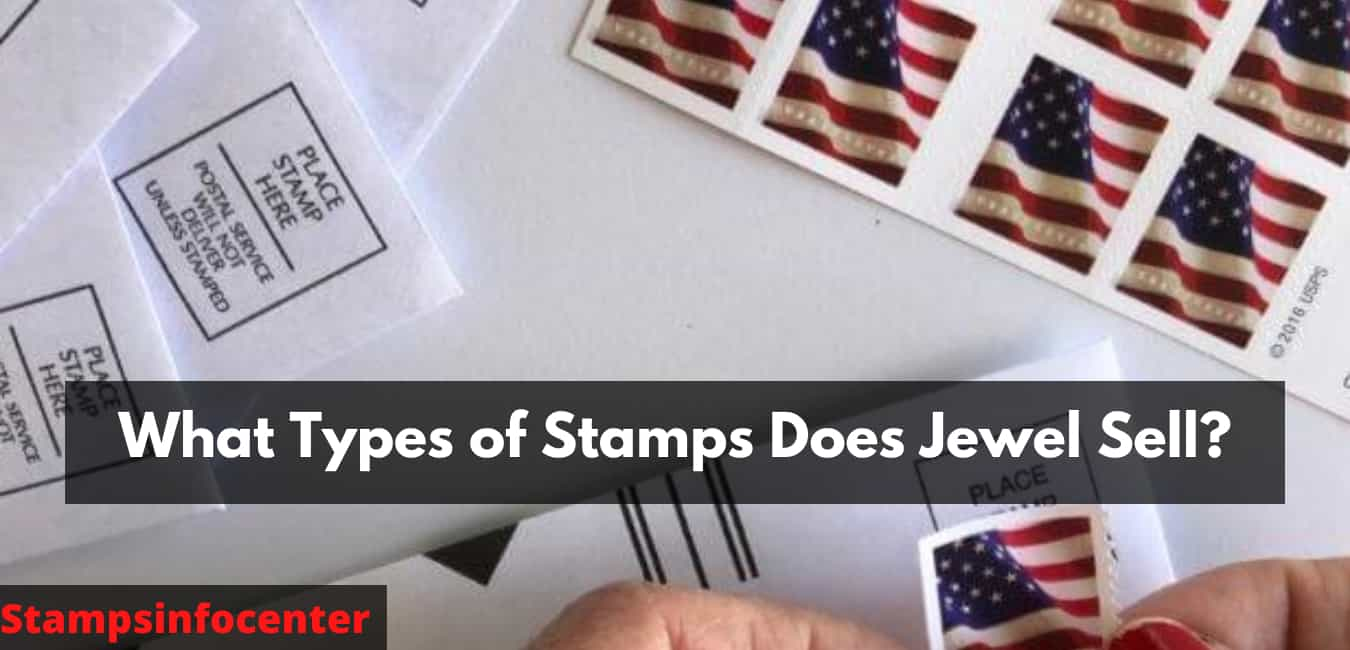 What Types of Stamps Does Jewel Sell