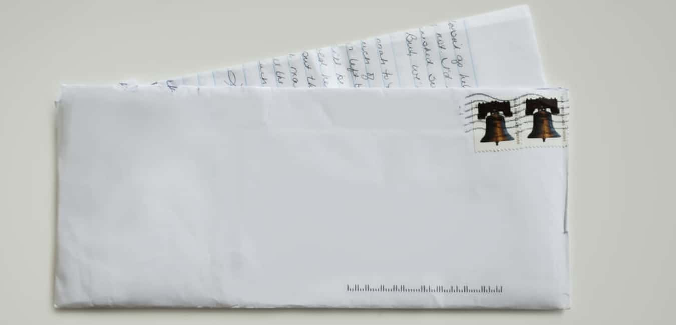 How many stamps do I need for a 10×13 envelope