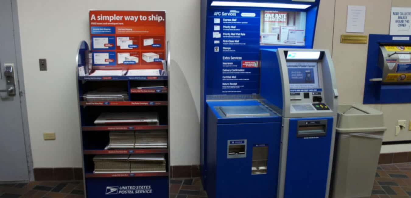 Features of USPS Self-Service Kiosk