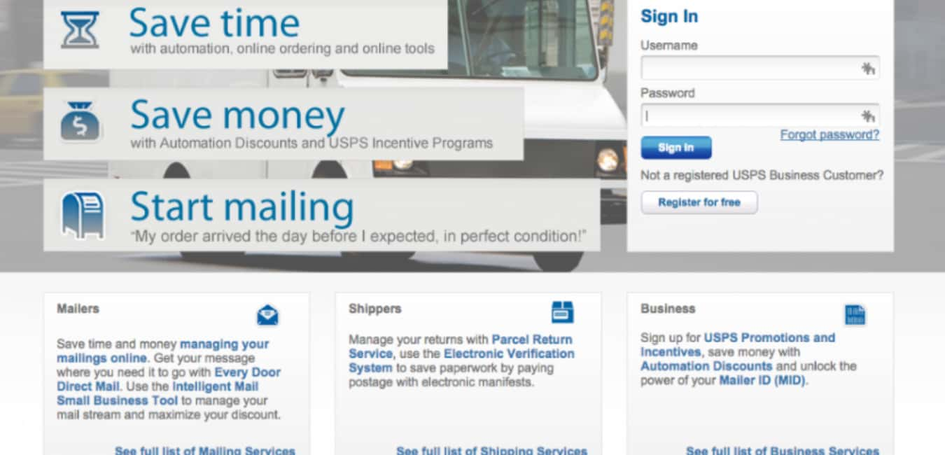 USPS Personal Vs Business Account - Get Mails Anywhere