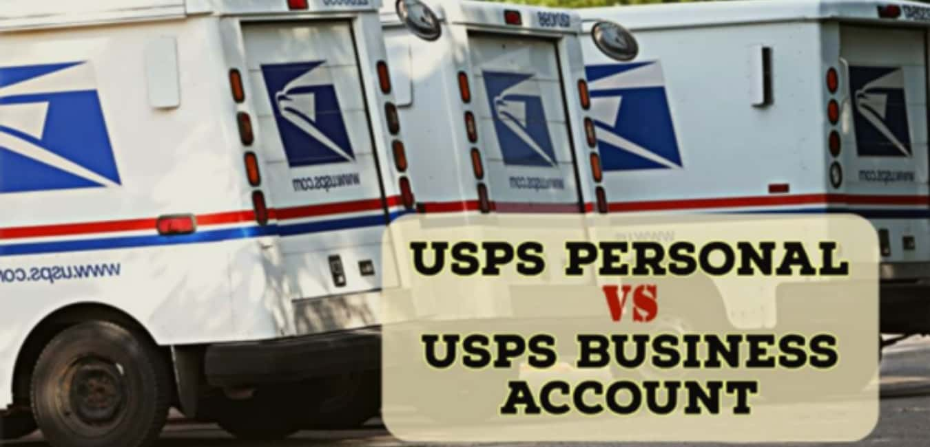 USPS Personal Vs Business Account