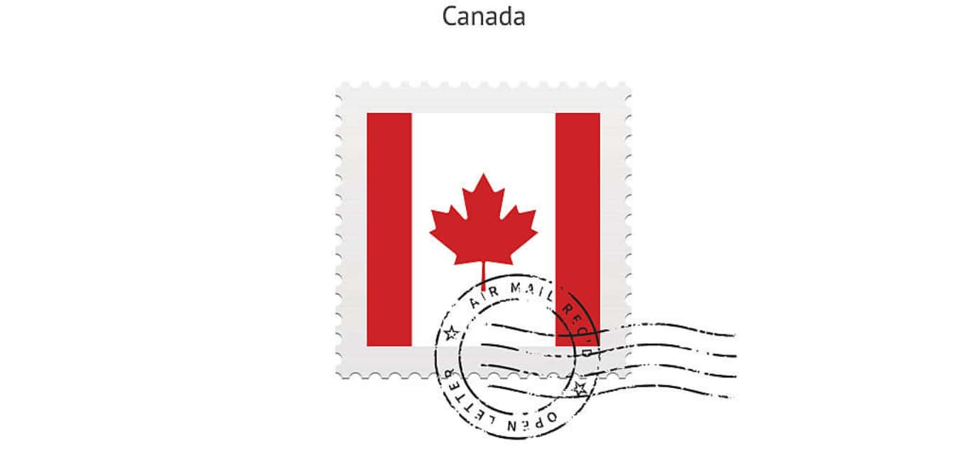 Postcard Postage to Canada